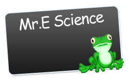 Mr.E Science Logo